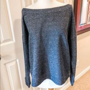 NY&Co Slouchy and Sparkly Slouchy Sweater